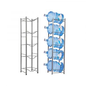 Water Bottle Storage/Rack/Stand/Holder For 5 Gallon Water Dispenser, 5 Tier, For Home, Office, Kitchen etc