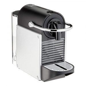 Nespresso Pixie Coffee Machine EN124.S ,0.7L,1260W, Silver/Black