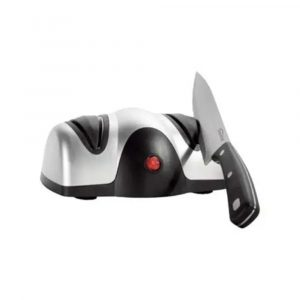 2-Stage Electric Knife Sharpener B07MWXHHVT Silver/Black
