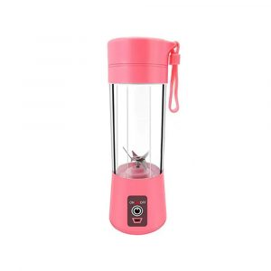 Mini Portable High-power USB Charging Juice Cup Blender 0.6 l PO12377 Pink