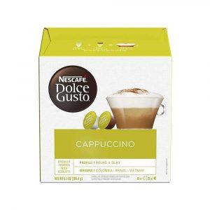 Nescafe Dolce Gusto Cappuccino Coffee 16 Capsules