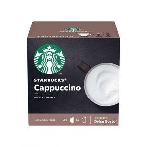 Nescafe Dolce Gusto Cappuccino, 12 Capsules Cappuccino 120g