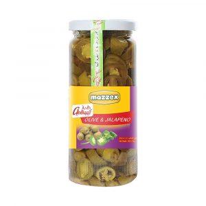 Mazzex Olive & Jalapeno