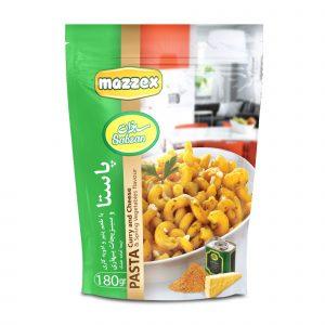 Mazzex Sabzan Cheese & Curry Pasta 180gr
