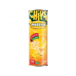 Mazzex Cheese Flavor Chips - 160gr