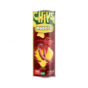 Mazzex Hot & Spicy Flavor Chips 160gr