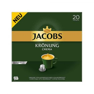 Jacobs Krönung Crema Capsules 20 Pieces