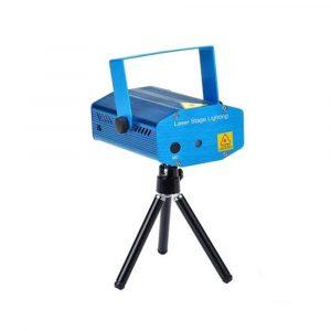 Mini LED Laser DJ Light Green/Red 130x52x92millimeter