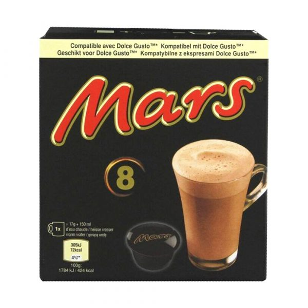 Dolce Gusto Mars Hot Chocolate 8 Pods
