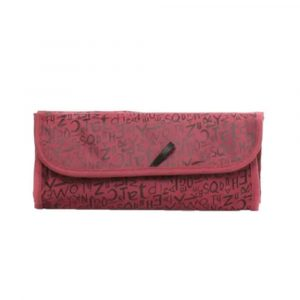 Travel Roll N Go Cosmetic Bag Red/Black