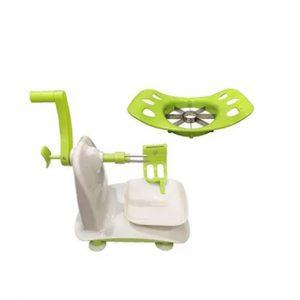 Spiral Apple Peeler White/Green/Silver